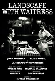 Landscape with Waitress Poster