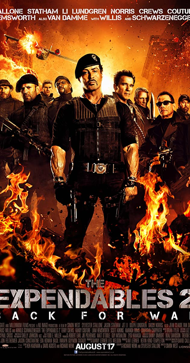 Nesunaikinami 2 / The Expendables 2 (2012) Online