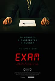 Exam(2009) Poster - Movie Forum, Cast, Reviews