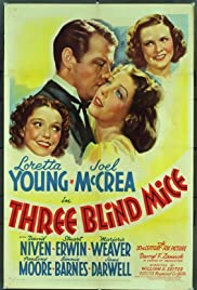 Three Blind Mice (1938) Poster - Movie Forum, Cast, Reviews