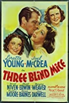 Three Blind Mice (1938) Poster