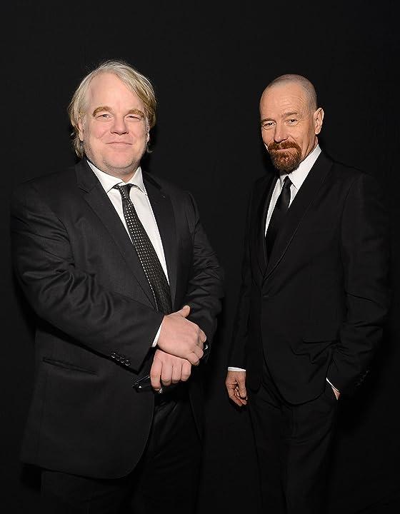 Philip Seymour Hoffman and Bryan Cranston