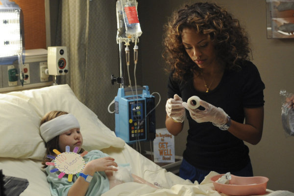 Jaime Lee Kirchner and Zoe Margaret Colletti in Mercy (2009)