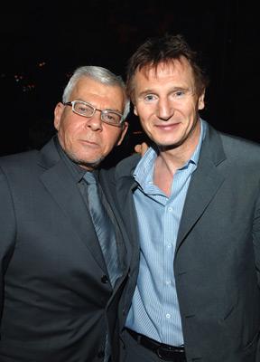 Liam Neeson and Ed Limato at Batman Begins (2005)