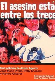 El asesino está entre los trece Poster
