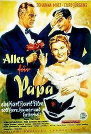 Alles für Papa Poster