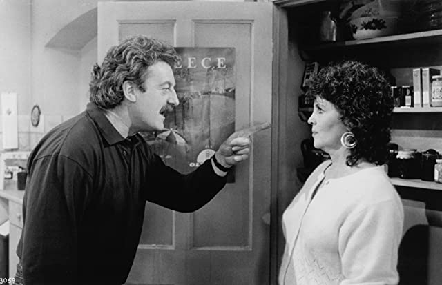 Pauline Collins and Bernard Hill in Shirley Valentine (1989)
