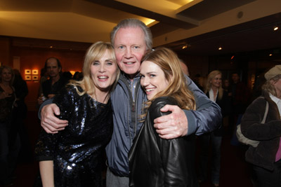 Jon Voight, Marie-Josée Croze, and Emmanuelle Seigner at an event for The Diving Bell and the Butterfly (2007)