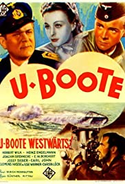 U-Boat, Course West! Poster