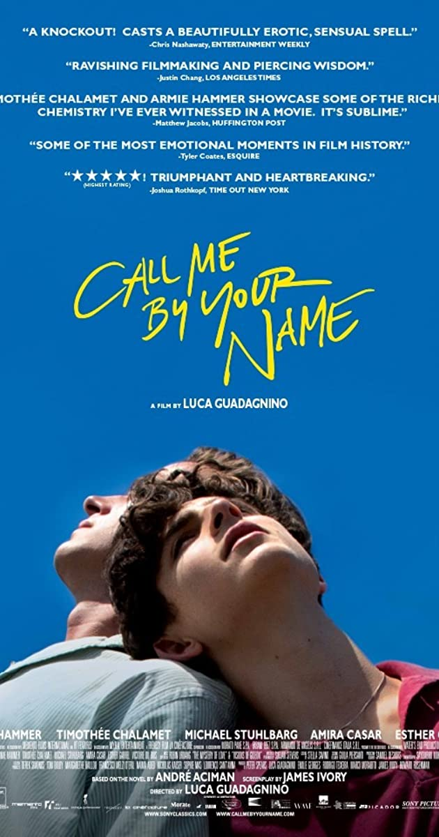 Vadink mane savo vardu / Call Me by Your Name (2017)
