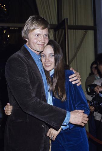 Jon Voight and Marcheline Bertrand circa 1970s