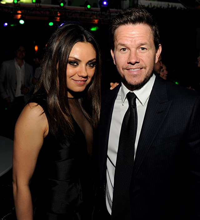 Mark Wahlberg and Mila Kunis at Ted (2012)