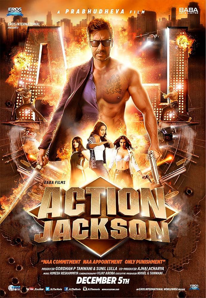 Ajay Devgn Action Jackson