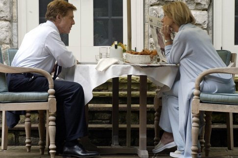 Helen Mirren and Robert Redford in The Clearing (2004)