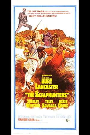 The Scalphunters poster