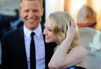 Christopher Egan and Amanda Seyfried at Letters to Juliet (2010)