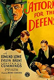 Attorney for the Defense Poster