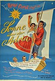 Sonne über der Adria Poster
