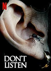 Don't Listen (2020) poster