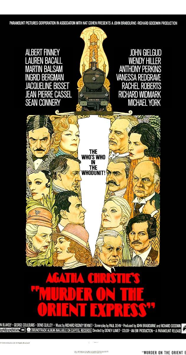 Žmogžudystė rytų eksprese / Murder on the Orient Express (1974) Online