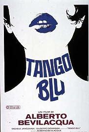 Tango blu Poster
