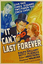 It Can't Last Forever Poster
