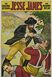 Jesse James as the Outlaw Poster