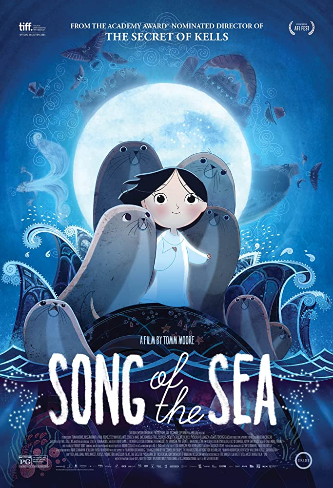 Song of the Sea filmposter