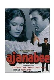 Ajanabee Poster