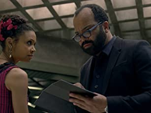 Thandie Newton and Jeffrey Wright in Westworld (2016)
