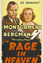 Rage in Heaven (1941) Poster - Movie Forum, Cast, Reviews