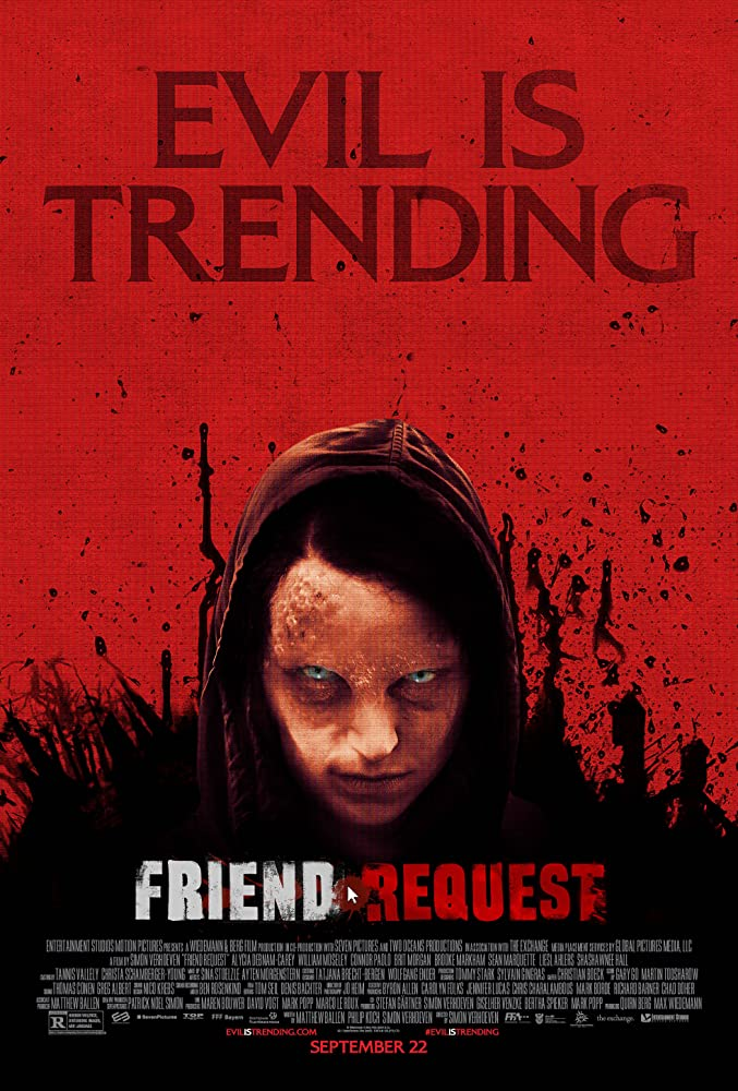 Friend Request movie poster thumbnail link to detail view