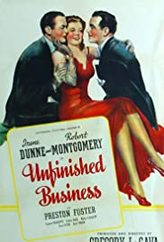 Unfinished Business(1941) Poster - Movie Forum, Cast, Reviews