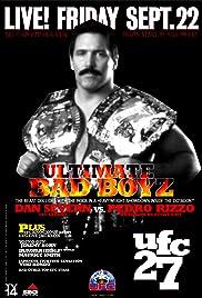 UFC 27: Ultimate Bad Boyz Poster