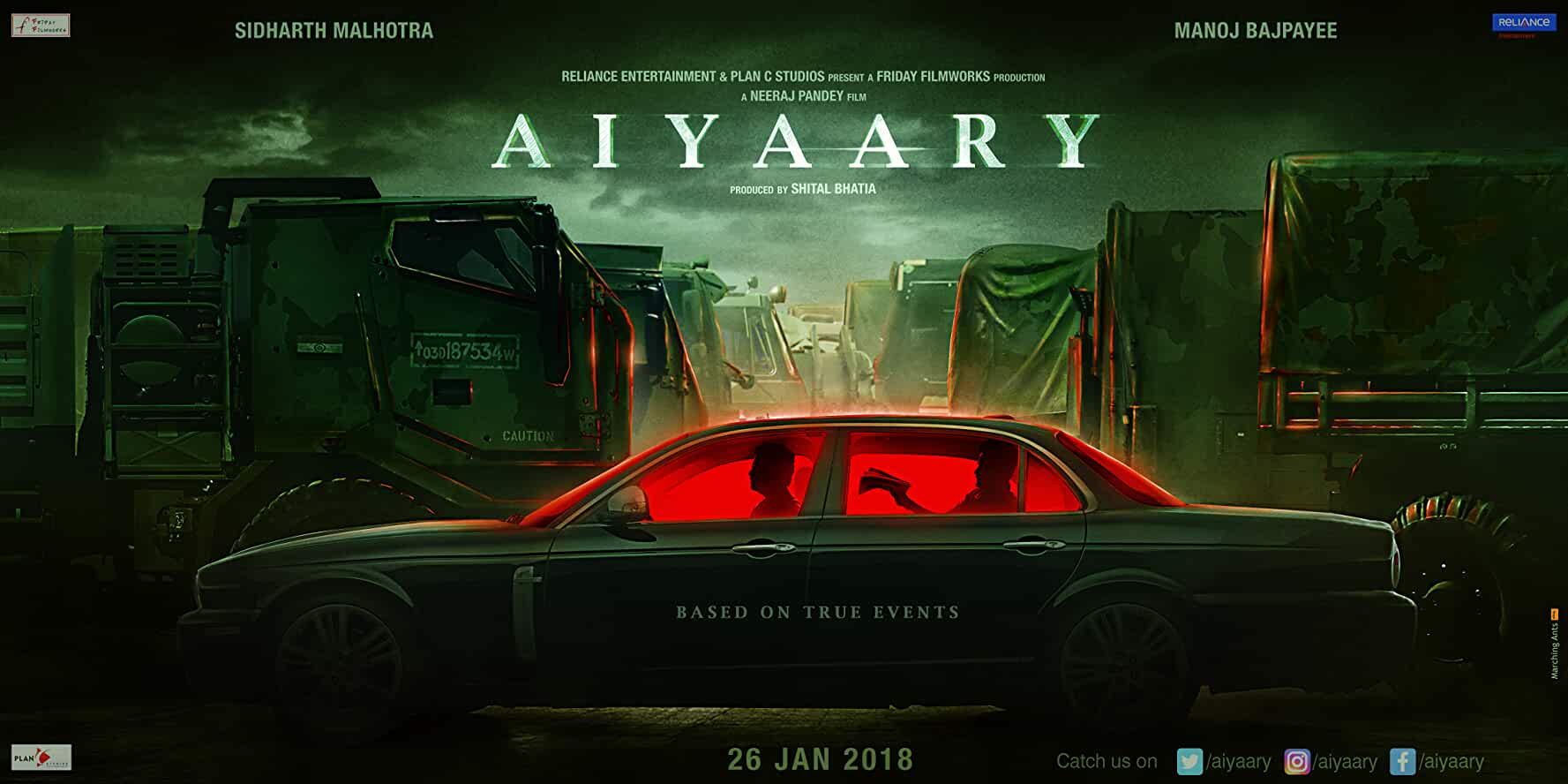 Aiyaary Movie Hindi Movie 2018