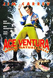 Ace Ventura: When Nature Calls (1995) Poster - Movie Forum, Cast, Reviews