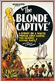 The Blonde Captive Poster