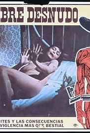 El hombre desnudo Poster