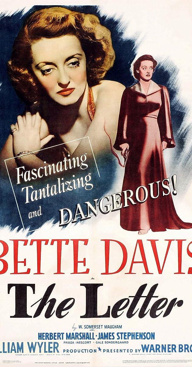 The Letter 1940 IMDb
