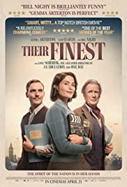Their Finest (12A), Amy Robsart Hall, Syderstone PE31 8SD | In 1940, a married woman and a screenwriter develop a growing attraction while working together on a propaganda film about the evacuation of Allied troops from Dunkirk. | cinema
