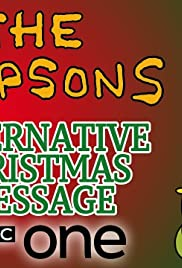 The Simpsons' Christmas Message Poster