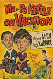 Ma and Pa Kettle on Vacation (1953) Poster - Movie Forum, Cast, Reviews