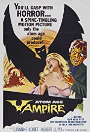 Atom Age Vampire (1960) Poster - Movie Forum, Cast, Reviews