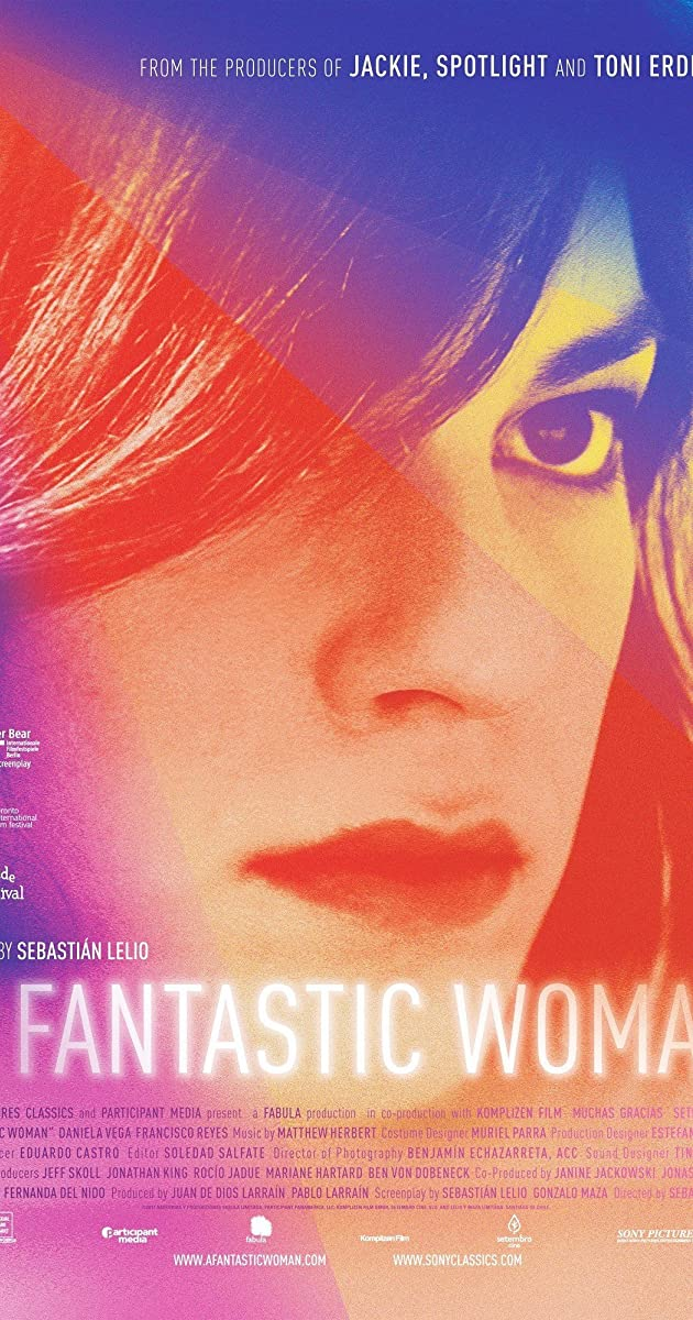 Fantastiška moteris / Una mujer fantastica (2017) Online