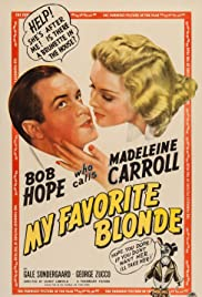My Favorite Blonde Poster