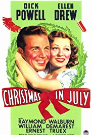 Christmas in July (1940) Poster - Movie Forum, Cast, Reviews