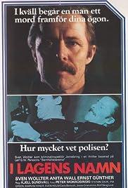 I lagens namn Poster