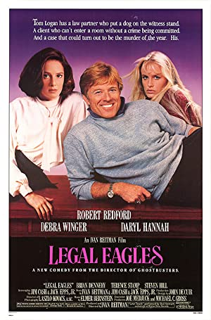 Legal Eagles poster
