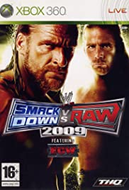 WWE SmackDown vs. RAW 2009 (2008) Poster - Movie Forum, Cast, Reviews