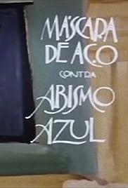 Máscara de Aço contra Abismo Azul Poster